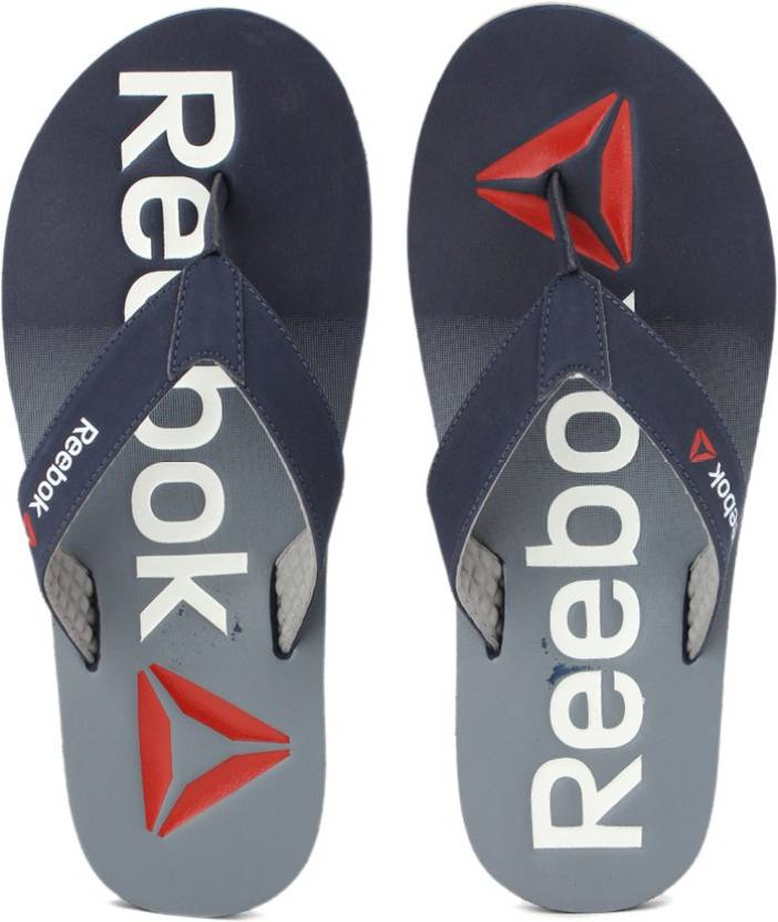 3134baa43 REEBOK EMBOSSED FLIP Slippers - Buy COLL NAVY GREY WHT RED Color REEBOK  EMBOSSED FLIP Slippers Online at Best Price - Shop Online for Footwears in  India ...