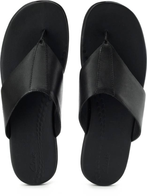 77d05314718 Clarks Valor Beach Slippers - Buy Black Color Clarks Valor Beach Slippers  Online at Best Price - Shop Online for Footwears in India