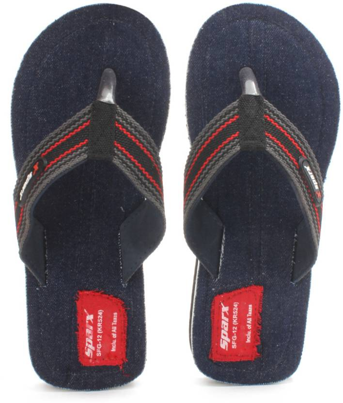 2f6390f8a6e8 Sparx SFG-12 Slippers - Buy Denim Color Sparx SFG-12 Slippers Online at  Best Price - Shop Online for Footwears in India