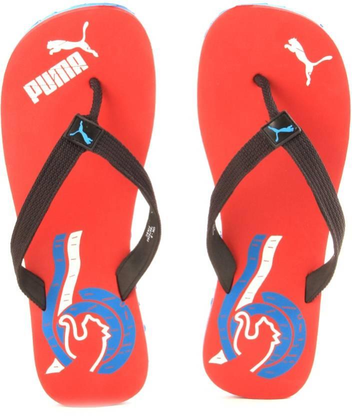 fbd12c14d Puma Wave II DP Flip Flops - Buy high risk red-cloisonn -white-black Color Puma  Wave II DP Flip Flops Online at Best Price - Shop Online for Footwears in  ...
