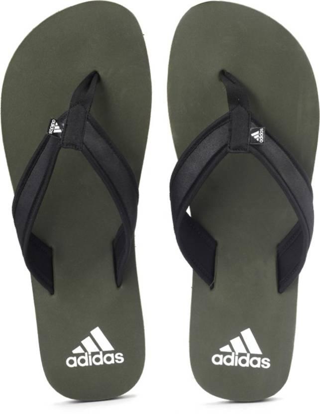 ec61390b78b6 ADIDAS ADI RIO ATTACK MEN Flip Flops - Buy CANGRE BLACK WHITE Color ADIDAS  ADI RIO ATTACK MEN Flip Flops Online at Best Price - Shop Online for  Footwears in ...