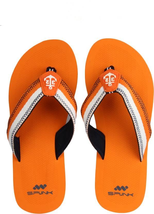 17852381cdbd Spunk by FBB Flip Flops - Buy Orange Color Spunk by FBB Flip Flops Online  at Best Price - Shop Online for Footwears in India
