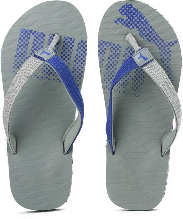 ffa00d55b4a3 Puma Miami Fashion II DP Slippers - Buy Limestone-Mazarine Blue Color Puma  Miami Fashion II DP Slippers Online at Best Price - Shop Online for  Footwears in ...