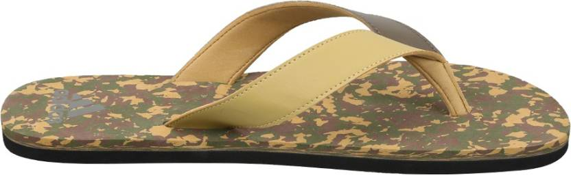 19e990054f44 ADIDAS SHINGLE Flip Flops - Buy KHAKI OLICAR CARBRN BLACK Color ADIDAS  SHINGLE Flip Flops Online at Best Price - Shop Online for Footwears in India  ...