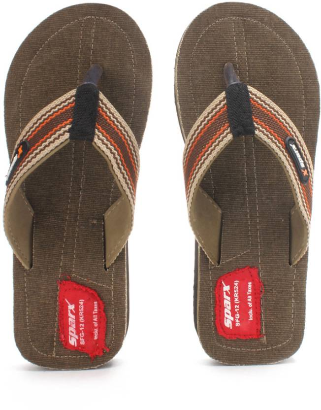 7e69cd1e8b85 Sparx SFG-12 Slippers - Buy Camel Color Sparx SFG-12 Slippers Online at  Best Price - Shop Online for Footwears in India