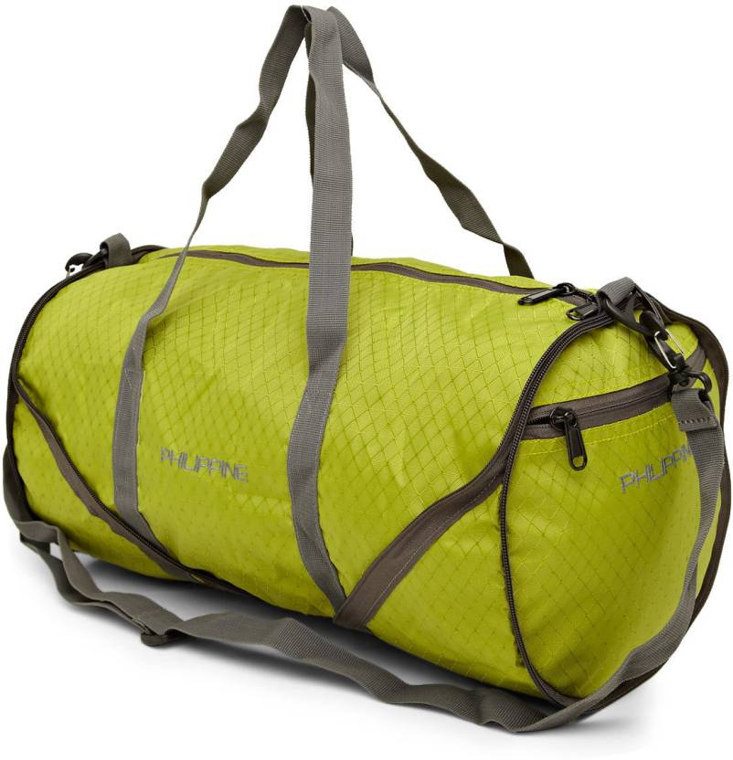 Philippines Uber Cool Foldable Duffle Small Travel Bag - Free (Green) f007328f93496