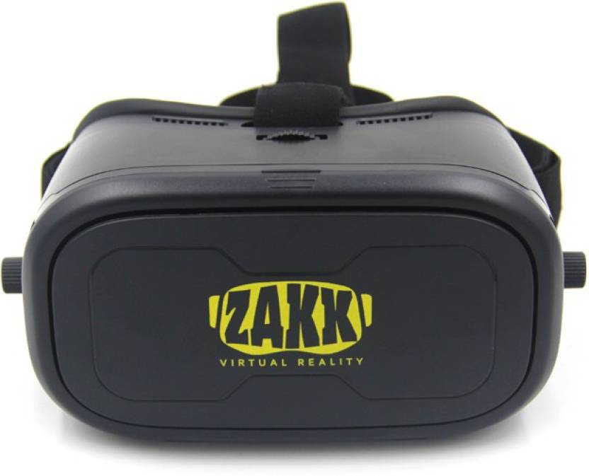 Flat 86% Off on Zakk 3D VR Headset Just Rs.699 By Flipkart | Zakk 3D VR Headset (without remote)  (Smart Glasses) @ Rs.699