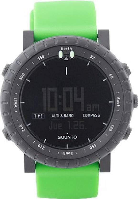 Suunto SS019163000 Core Digital Green Crush Smartwatch