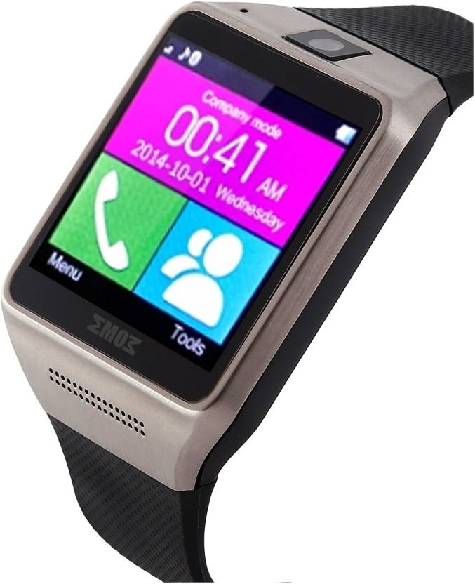 347b35915a7 Emob Smart watches Mobile Phone with calling system Silver Smartwatch  (Silver
