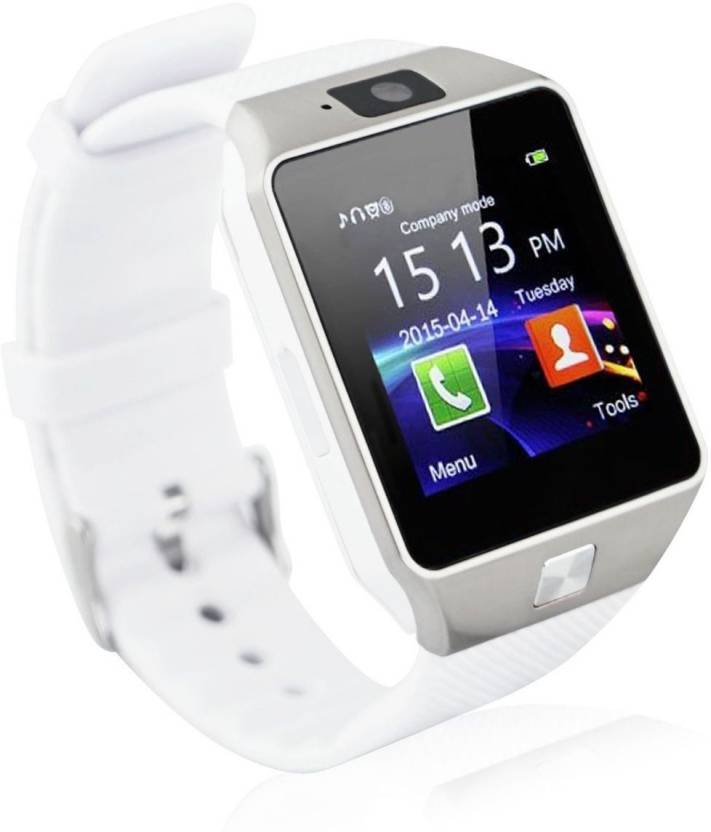 Life Like DZ09 BLUETOOTH WITH SIM CARD & TF CARD SUPPORT WHITE Smartwatch