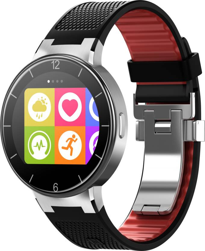Alcatel One Touch Watch Black /Dark Red Smartwatch