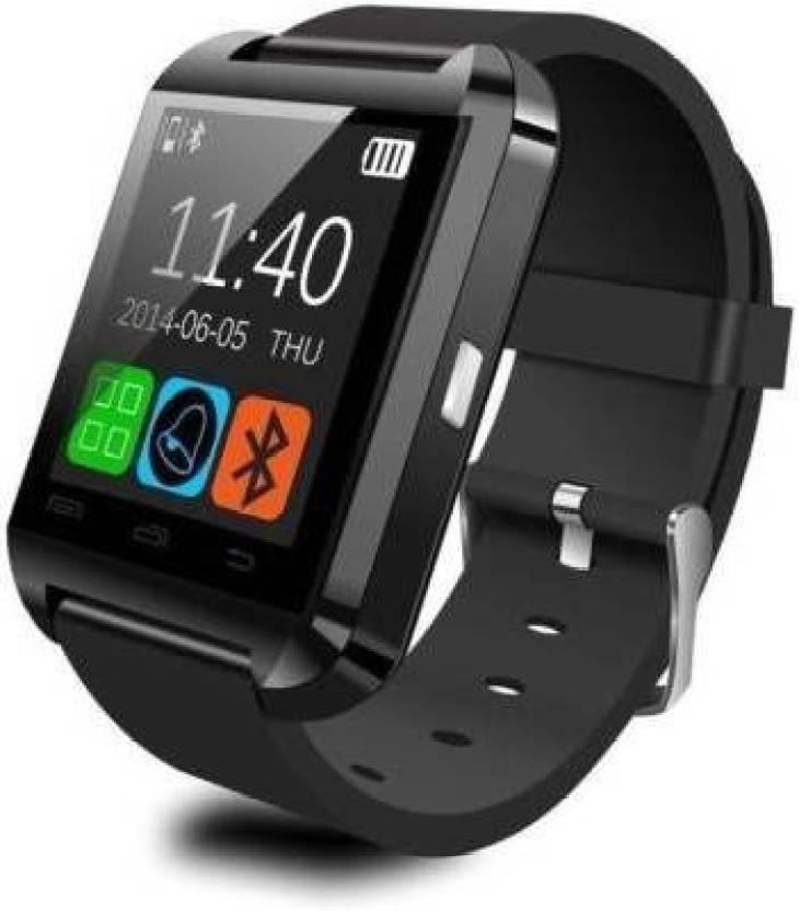 Divine U8 Black Smartwatch