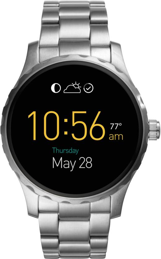 Fossil Marshall (For Men) Silver Smartwatch