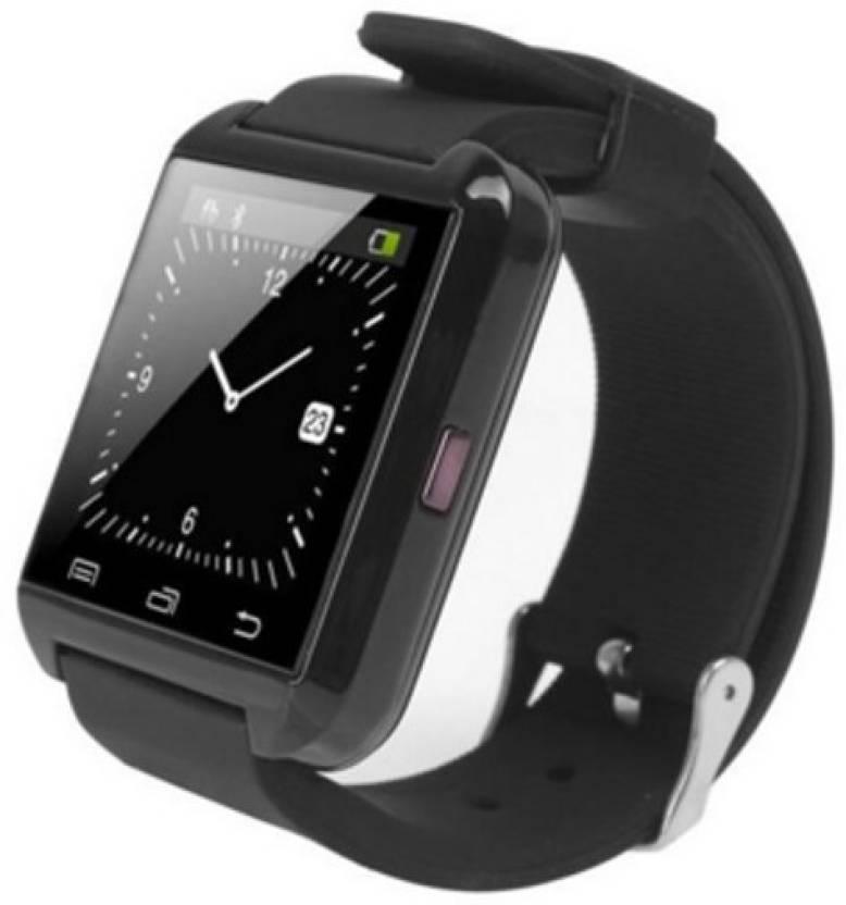 d52d4742784 U Watch U8 Bluetooth Black Smartwatch Price in India - Buy U Watch ...