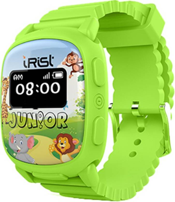 Intex iRist JUNIOR Green Smartwatch (Green Strap)