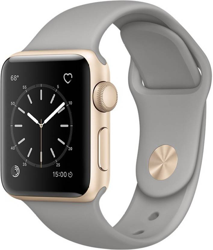 Apple Watch Series 1 - 38 mm Gold Aluminium Case with Concrete Sport Band