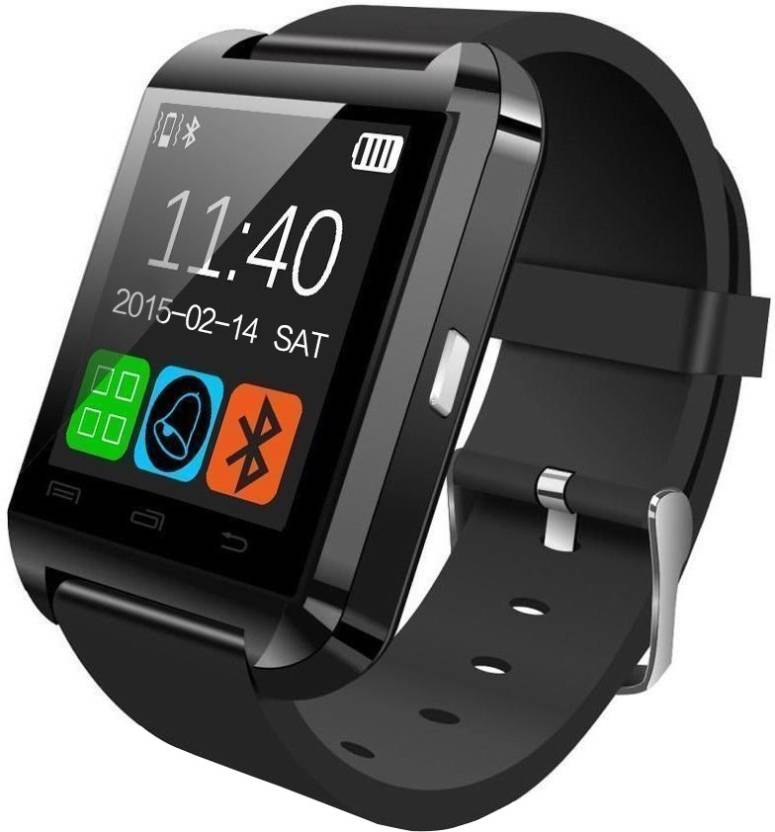 Bingo U8 Smartwatch  (Black Strap Regular)- 73% OFF