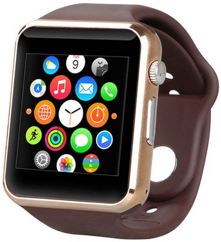Life Like A1 BLUETOOTH WITH SIM CARD & SD CARD SUPPORT BROWN Smartwatch