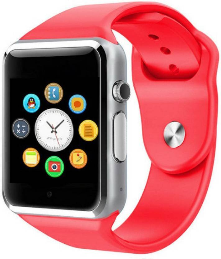 Life Like A1 BLUETOOTH WITH SIM CARD & SD CARD SUPPORT RED Smartwatch