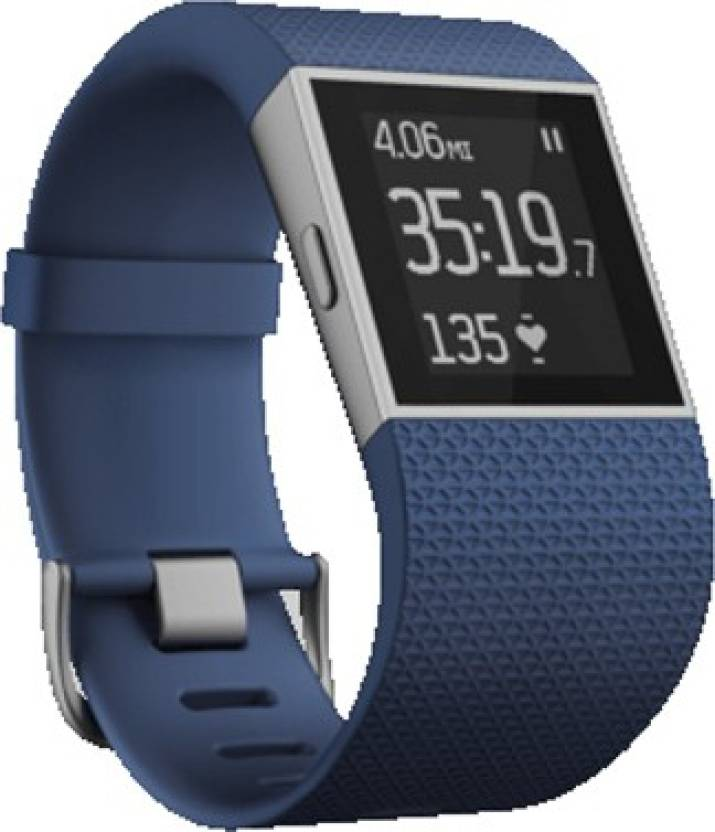 Fitbit Surge Large Blue Smartwatch