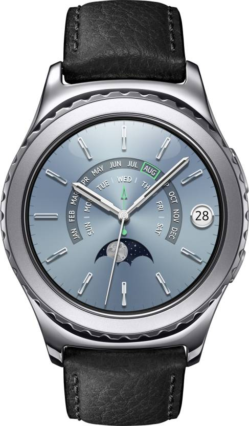 Upto 36% Off on Samsung Gear S2 Smartwatch Starting at Rs.15,900 By Flipkart | SAMSUNG Gear S2 Classic Platinum Smartwatch  (Black Strap Regular) @ Rs.21,900