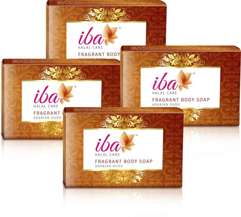 Iba Halal Care Arabian Oudh Fragrant Body Soap (Pack of 4) - Price ... 215a2084f