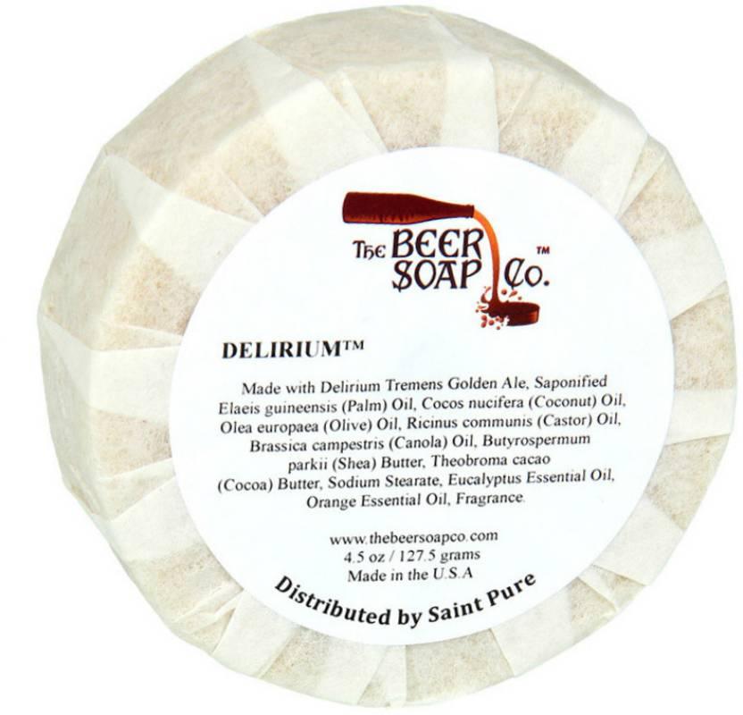 The Beer Soap Co. Belgian Delirium Strong Ale Soap