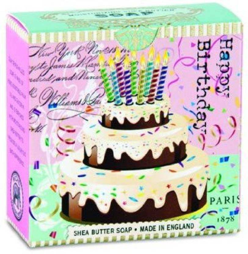 Michel Design Works Little Soap Birthday Cake 9919 G