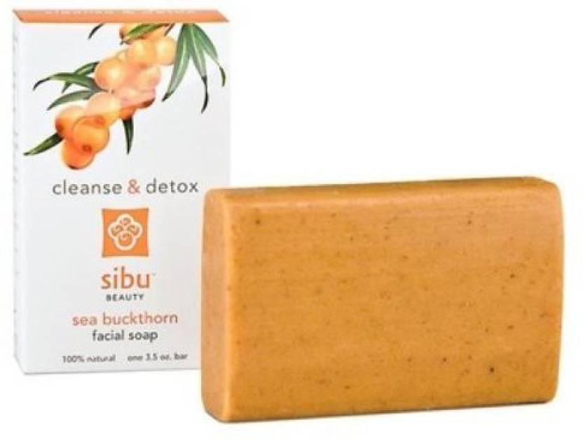 Sibu Beauty Sea Buckthorn Cleanse & Detox Facial Soap Bar - Price in