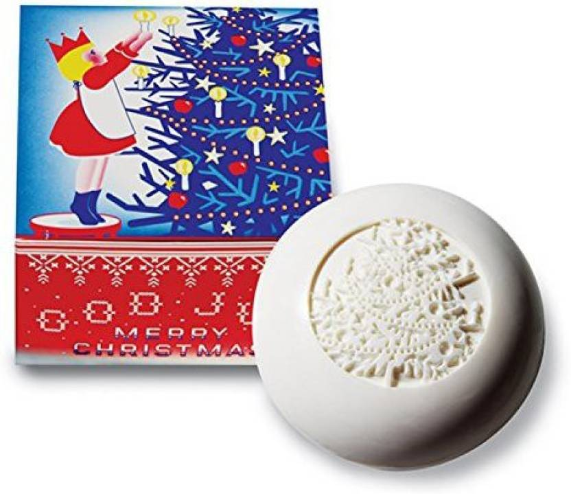 Swedish Dream Tm Christmas Soap Embossed With Christmas Tree- Bar (141.7 g)