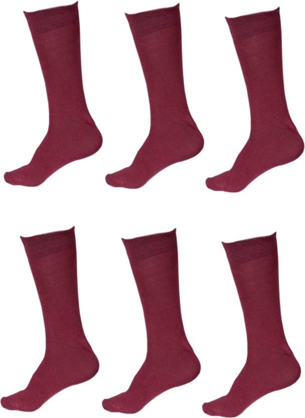 b0a779924 Sagaa Men   Women Solid Knee Length Socks