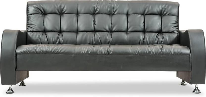 Durian HBF/55401 Leatherette 3 Seater Sofa