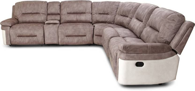 Hometown Jupiter Fabric 6 Seater Sofa Price In India Buy Hometown