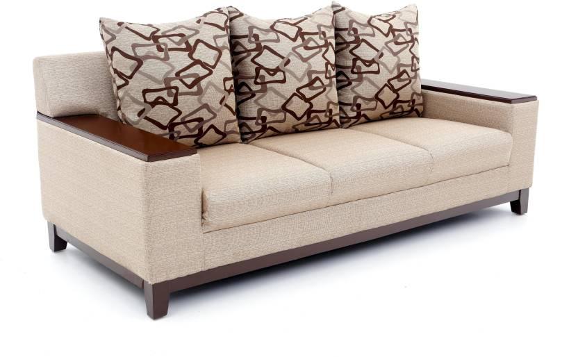 Furnicity Fabric 3 Seater Sofa