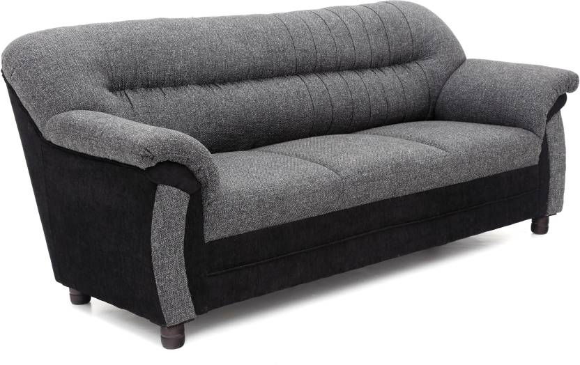 Sofa bestsellers - below 9,999 By Flipkart | Furnicity Fabric 3 Seater Sofa  (Finish Color - Grey) @ Rs.9,751