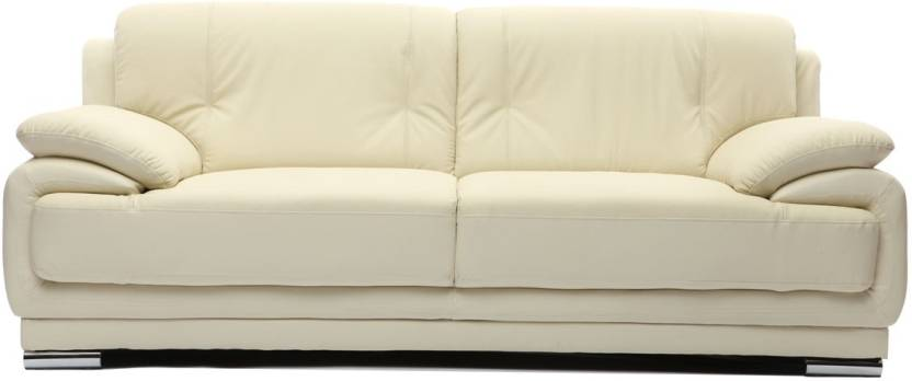 Furny Rocco Leatherette 3 Seater Sofa Price in India - Buy Furny ...