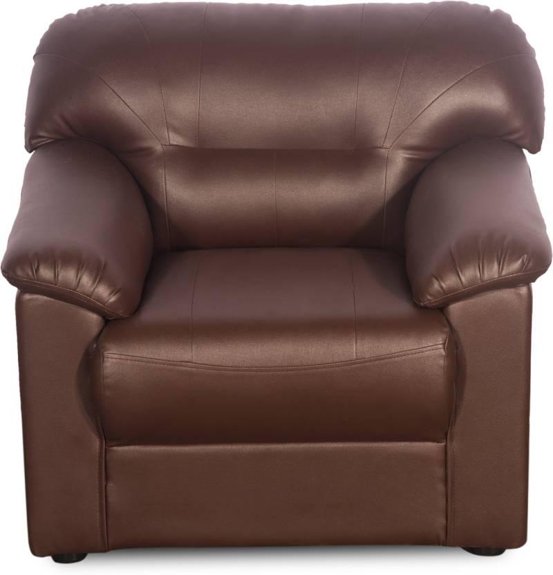 Rej Interio Rio Plus Leatherette 1 Seater Sofa