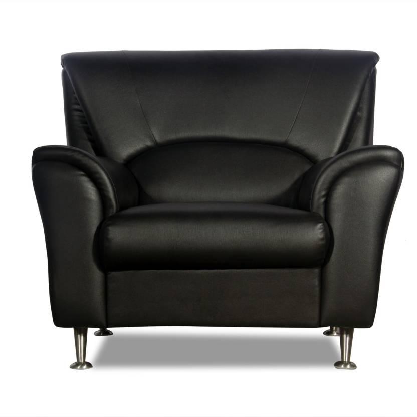 Rej Interio Dalpina Leather 1 Seater Sofa