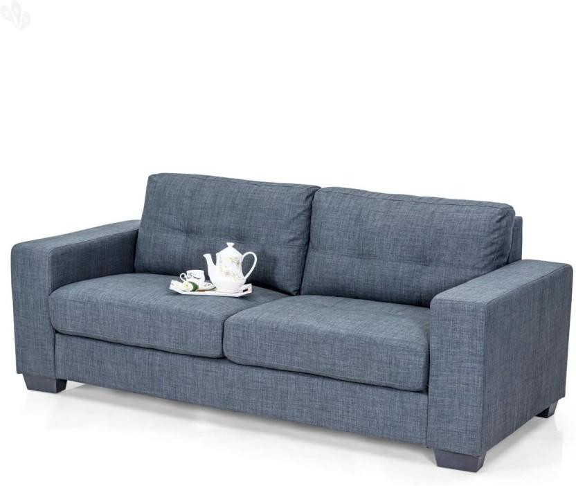 RoyalOak Berlin Fabric 3 Seater Sofa