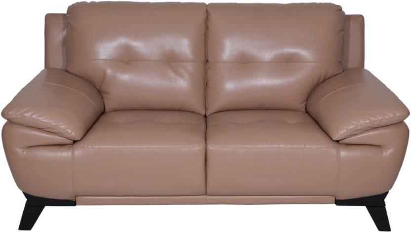 Evok Denmark Leatherette 2 Seater Sofa