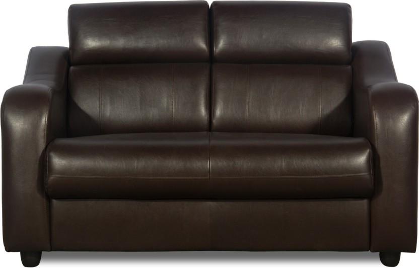Godrej Interio Elite Leather 2 Seater Sofa