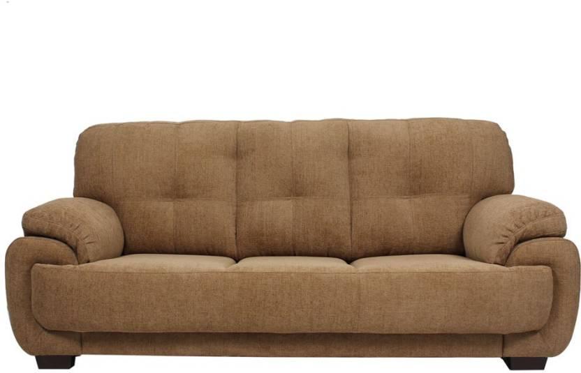 Evok Brisbane Fabric 3 Seater Sofa