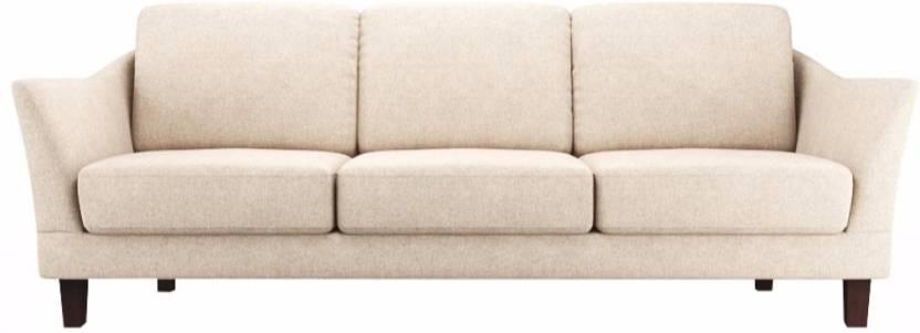 FabHomeDecor Clint Fabric 3 Seater Sofa