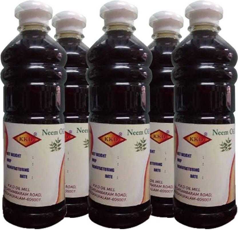 Kkd Pure Neem Oil25 Litre Kkd 500ml 5 Soil Manure Price