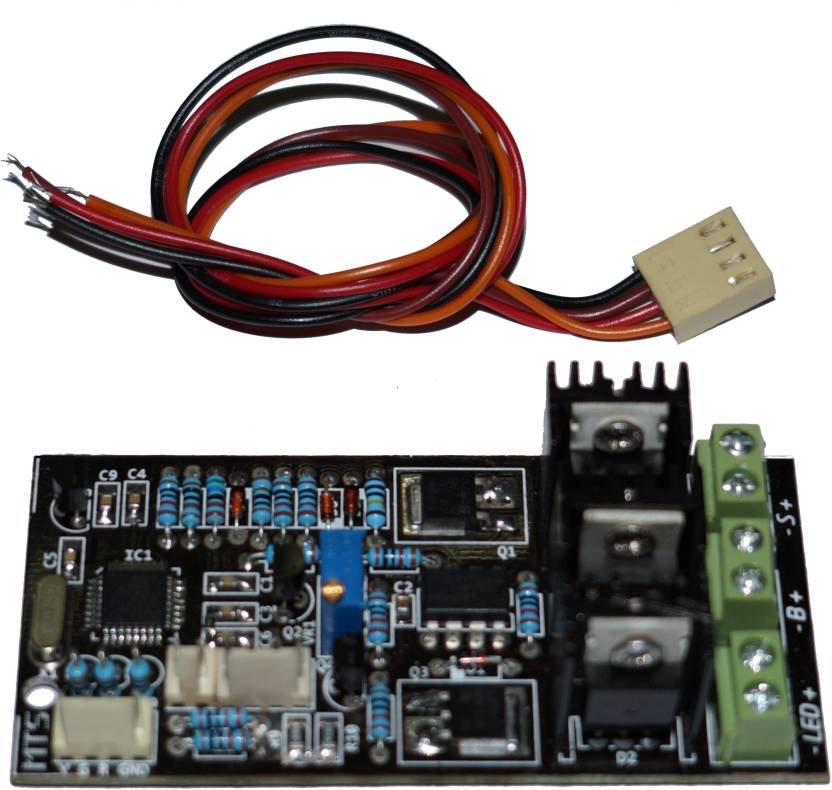 MTS (05 Nos) Microcontroller based 12 V 7 Amps PCB PWM Solar Charge  Controller
