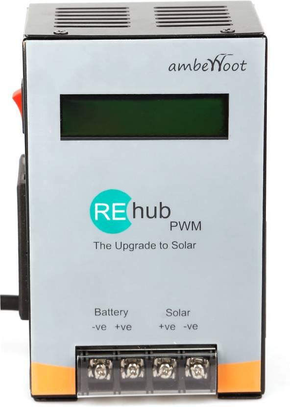 Amberroot REhub PWM 12/24V 25A PWM Solar Charge Controller