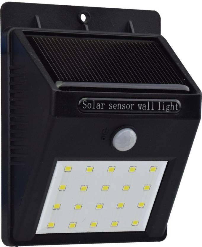 Quace 20 LED Motion Sensor Solar Light Set Price in India