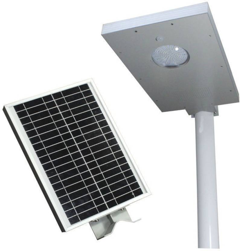 Solar Universe 12w All In One Streetlight Light Set Wall Mounted Pack Of 1