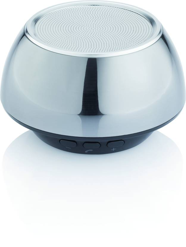 Loooqs Bluetooth P326.779 3 W Portable Bluetooth Speaker Silver, Mono Channel