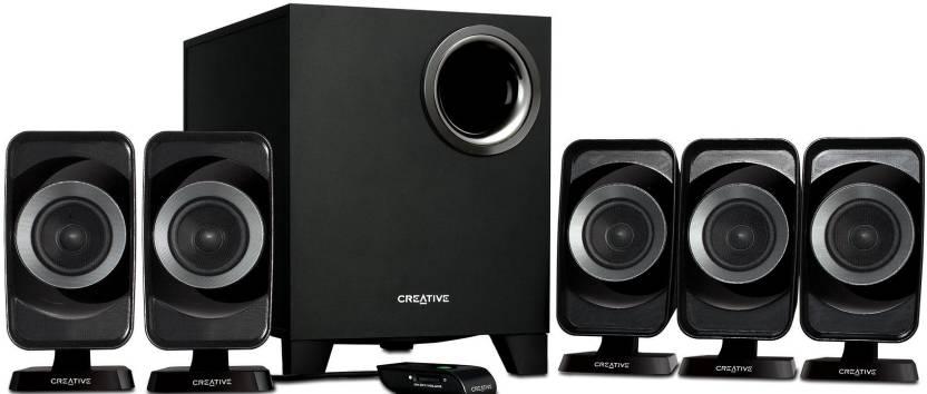 Creative Inspire T6160 5.1 Channel Multimedia Speakers (Requires RCA Composite Input)